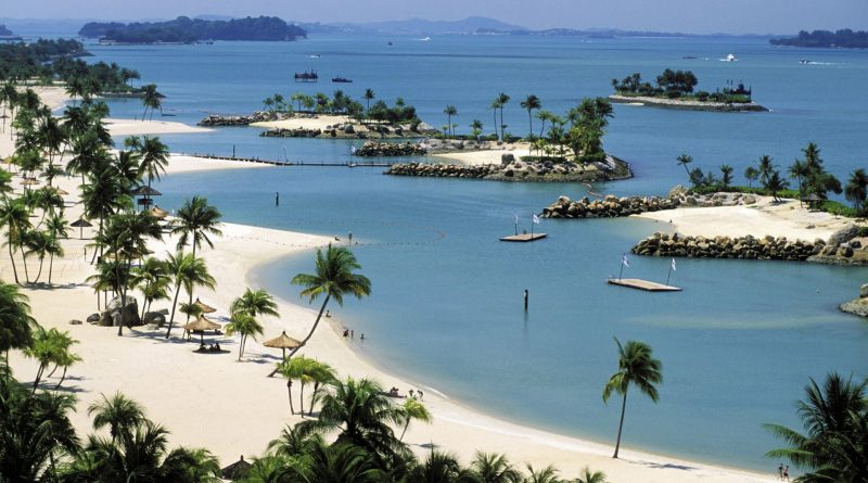 best luxury beach resorts in singapore sentosa island