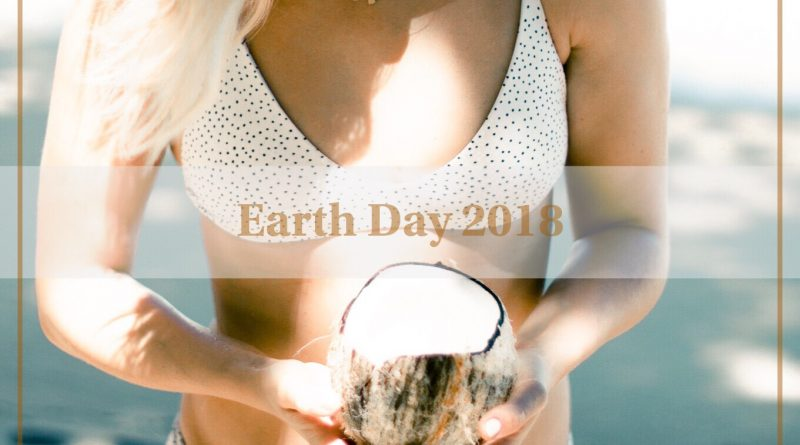 Earth Day 2018 Eco-conscious sustainable swimwear