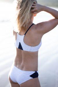 ECO-CONSCIOUS SWIMWEAR BY PURA CLOTHING racer back bikini