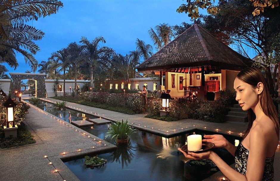 best luxury beach resorts in malaysia - tanjong jara spa village entrance