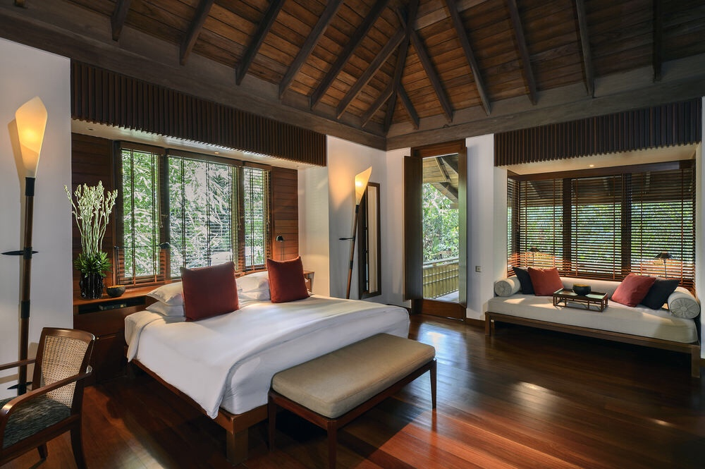 best luxury beach resorts in malaysia - the datai langkawi pool suite