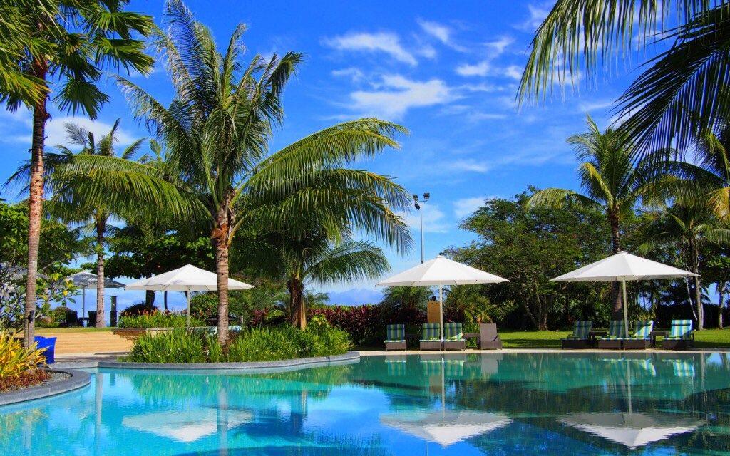 shangri la rasa ria ocean wing private swimming pool