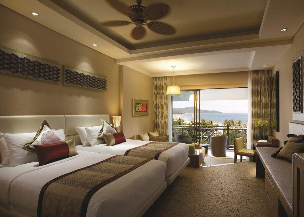 best luxury beach resorts in malaysia - shangri la rasa ria room