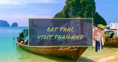 Eat Thai, Travel Thailand 2019 thai food boat