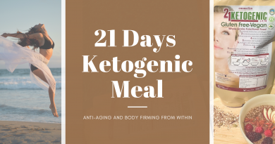 21 days ketogenic meal cover