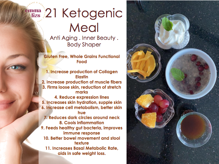 21 days ketogenic meal ingredients and list of benefits