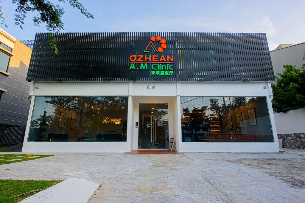 exterior facade of ozhean clinic in bangsar
